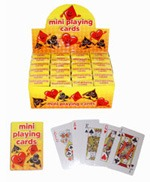 Mini Playing Cards x24