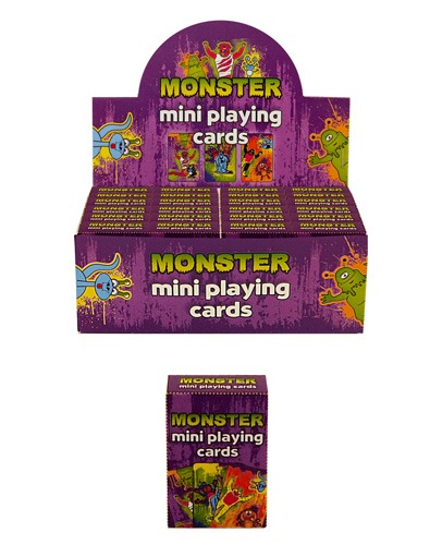 Monster Mini Playing Cards x2 Dozen