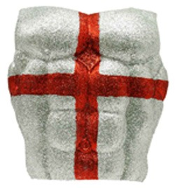England St George Glitter Chest