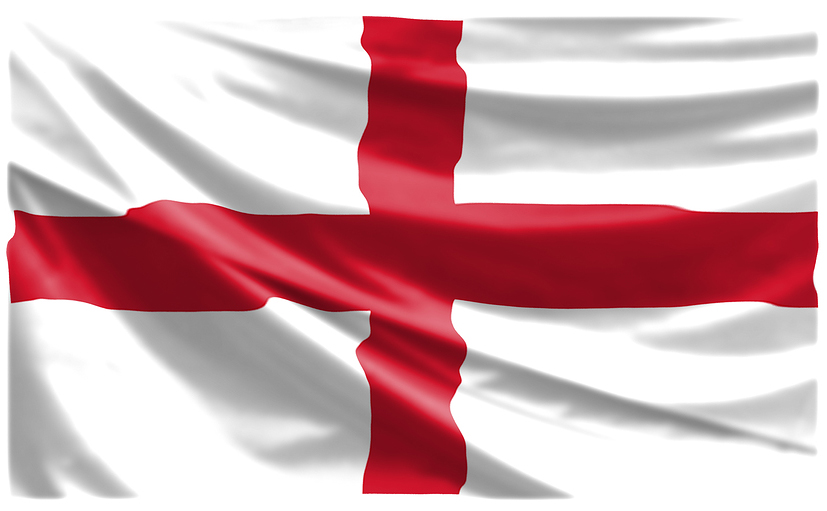 Giant England St George Flag 8ft x 5ft