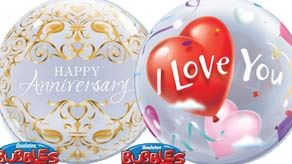 Love Occasion Bubble Balloons