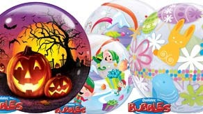 Seasonal Bubble Balloons