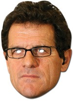 Fabio Capello Mask x1