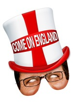 England Fan Mask x1