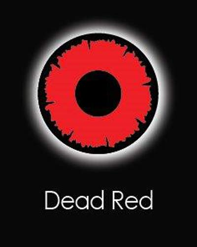 Dead Red Daily Contact Lenses
