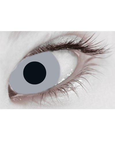 Zombie Grey Daily Contact Lenses