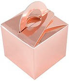 Rose Gold Bouquet Box x 10