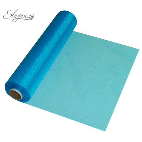 Turquoise Organza Rolls
