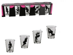 Sexy Ladies Shot Glasses 5ct