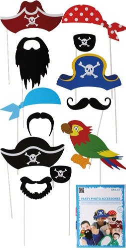 Pirate Party Photo Props