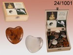 Heart Worry Stones x1 box