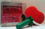 Waterproof Sponge Massager Vibrator