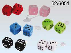 Plush Dice 2pc