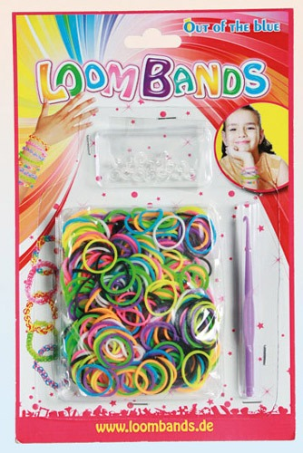 Assorted Colour Loom Bands x 300
