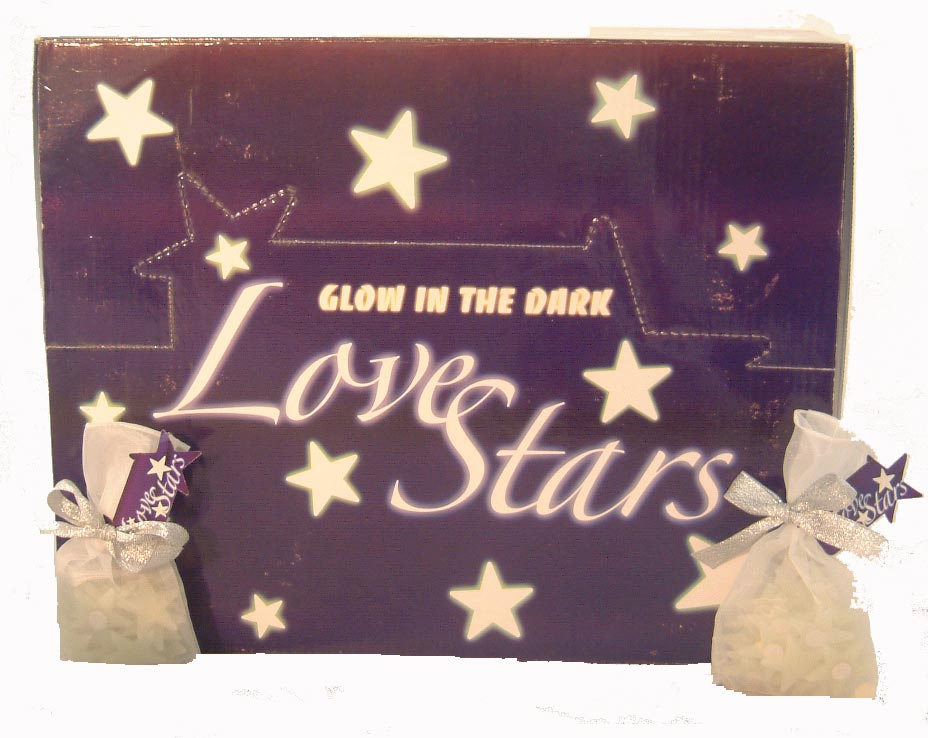 Glow In The Dark Love Stars