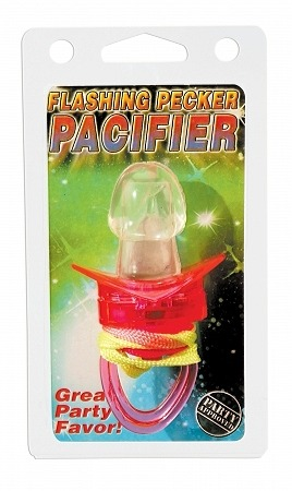 Pipedream Flashing Pecker Pacifier