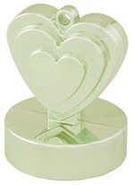 Qualatex Champagne Ivory Heart Balloon Weight