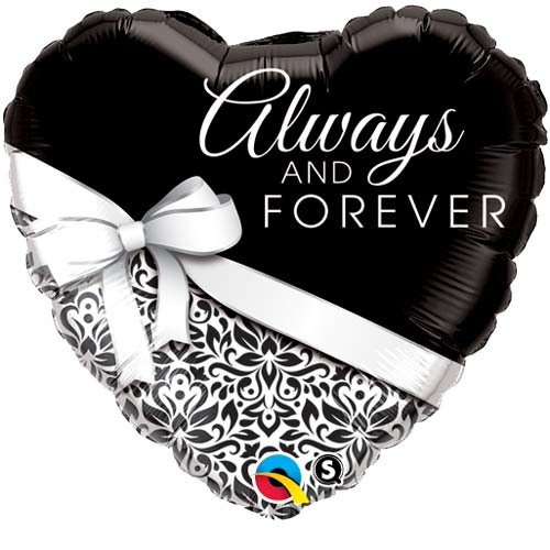 "18"" Always And Forever Foil Balloons"