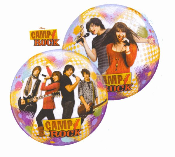 "22"" Camp Rock Stars Single Bubble Balloons"