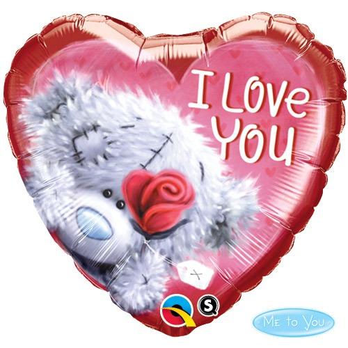 "18"" Me To You I Love You Foil Balloons"