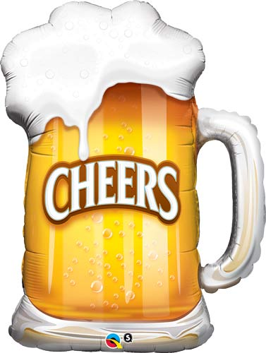 Cheers Beer Mug Supershape Balloons