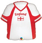 England St George Shirt Shape Balloons