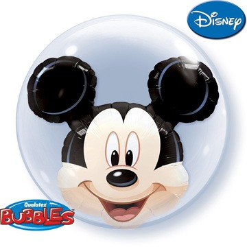 "24"" Mickey Mouse Double Bubble Balloons"
