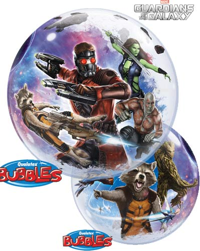 "22"" Guardians Of The Galaxy Single Bubble Balloons"