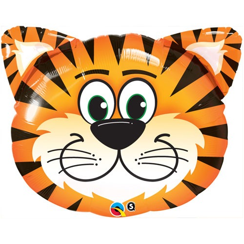 "14"" Tickled Tiger Air Fill Balloons"