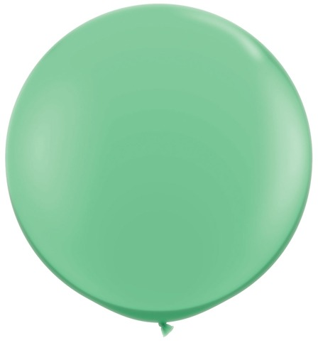 3ft Winter Green Latex Balloons 2pk