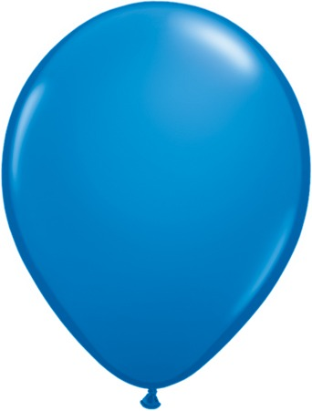 "5"" Dark Blue Latex Balloons 100pk"