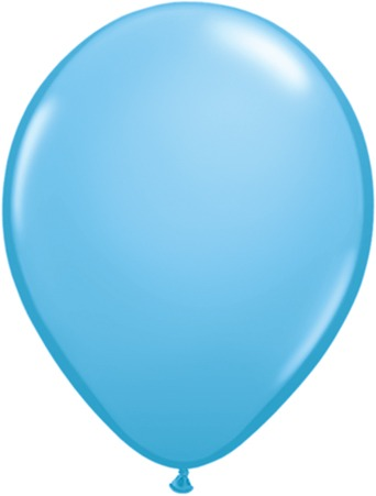 "5"" Light Blue Latex Balloons 100pk"