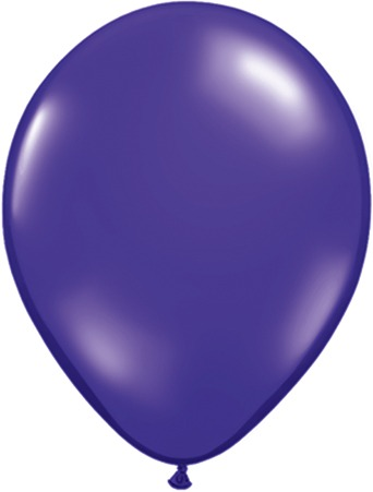 "9"" Quartz Purple Latex Balloons 100pk"