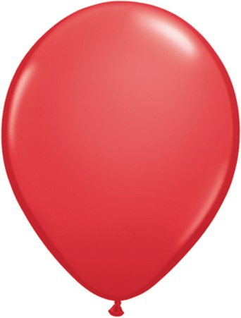 "9"" Red Latex Balloons 100pk"