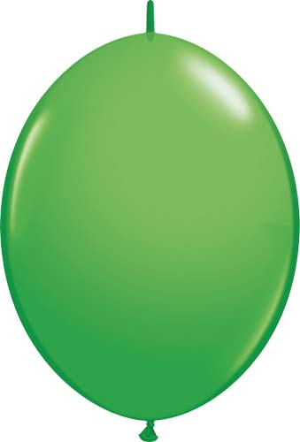 "12"" Spring Green Quick Link Latex Balloons 50pk"