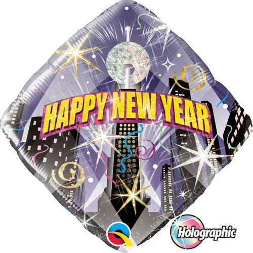 "18"" New Year Party Countdown Foil Balloons"