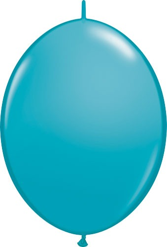 "12"" Tropical Teal Quick Link Latex Balloons 50pk"