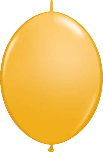 "12"" Goldenrod Quick Link Latex Balloons 50pk"
