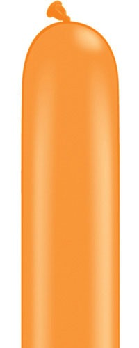 260q Orange Modelling Balloons 100pk