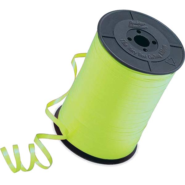 Lime Green Curling Ribbon 500mm