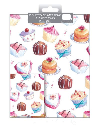 Cupcake And Sweets Wrap And Tags