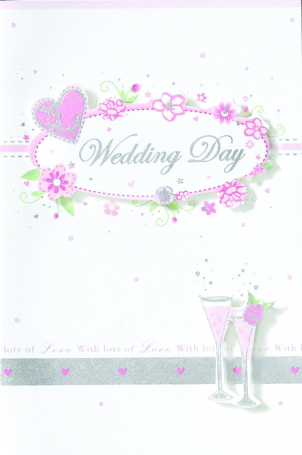 Wedding Acceptance Individually Wrapped Cards x24