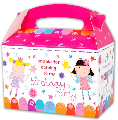 Fairy Princesses Party Boxes x6