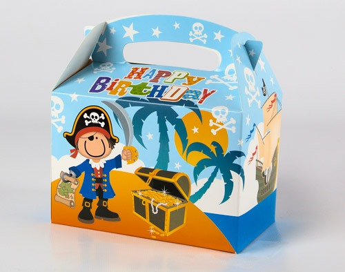 Pirate Fun Party Boxes x6