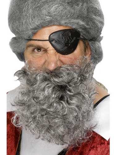 Light Grey Deluxe Pirate Beards