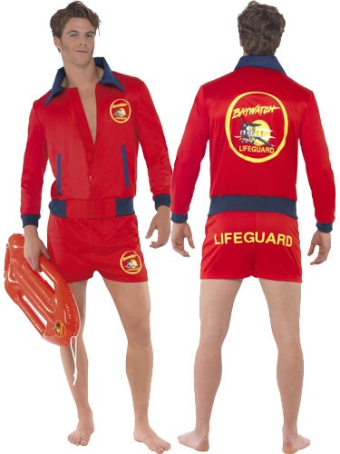 Officially Licensed Baywatch Fancy Dress Costumes