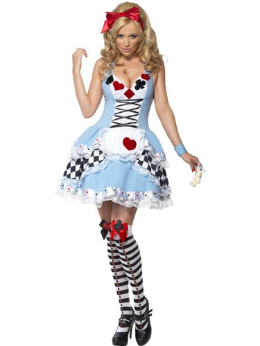 Fever Miss Wonderland Fancy Dress Costumes