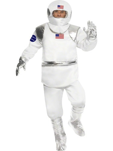Spaceman Costume Medium Only