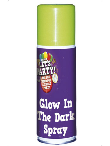 Glow In The Dark Spray