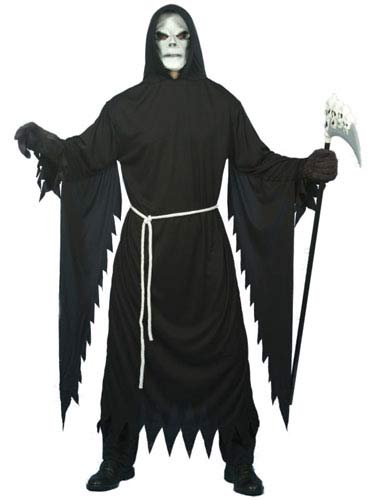 Grim Reaper Halloween Costume With Mask